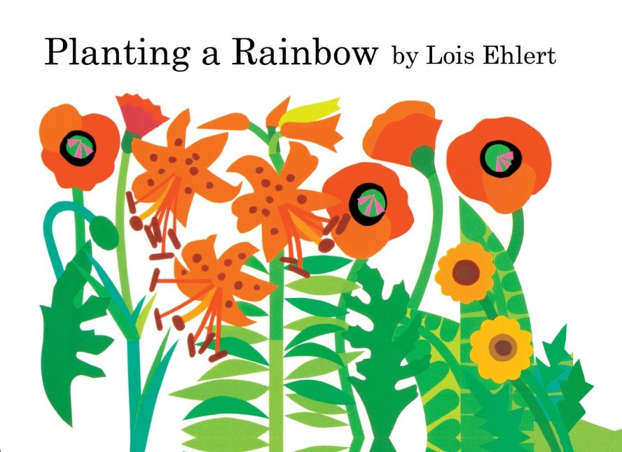 Planting a Rainbow by Lois Ehlert & Flower Arranging Toddler Montessori Work