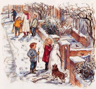 the snow lady shirley hughes